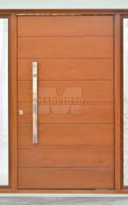 Portas de entrada em madeira maciça - Foto: 27