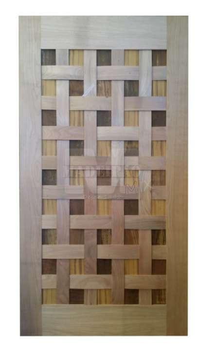 Portas de entrada em madeira maciça - Foto: 30