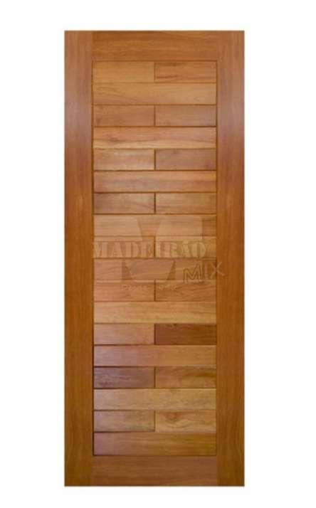 Portas de entrada em madeira maciça - Foto: 36