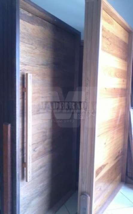 Portas de entrada em madeira maciça - Foto: 2