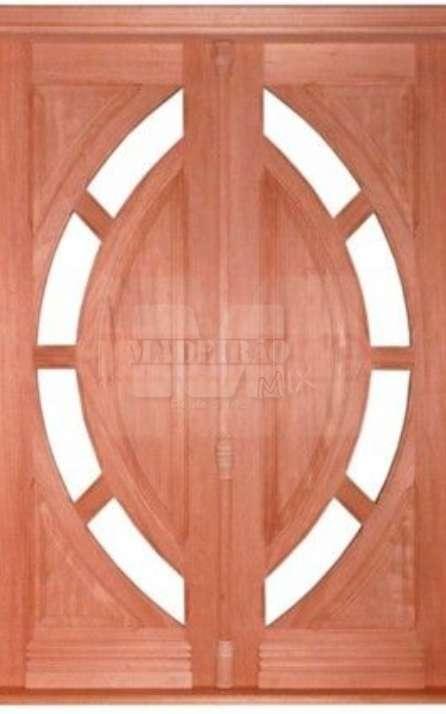 Portas de entrada em madeira maciça - Foto: 11