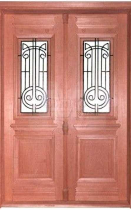 Portas de entrada em madeira maciça - Foto: 12