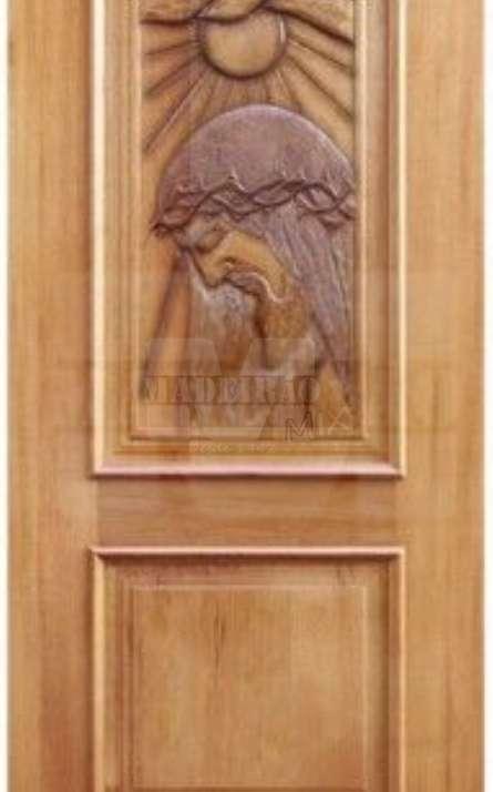 Portas de entrada em madeira maciça - Foto: 21