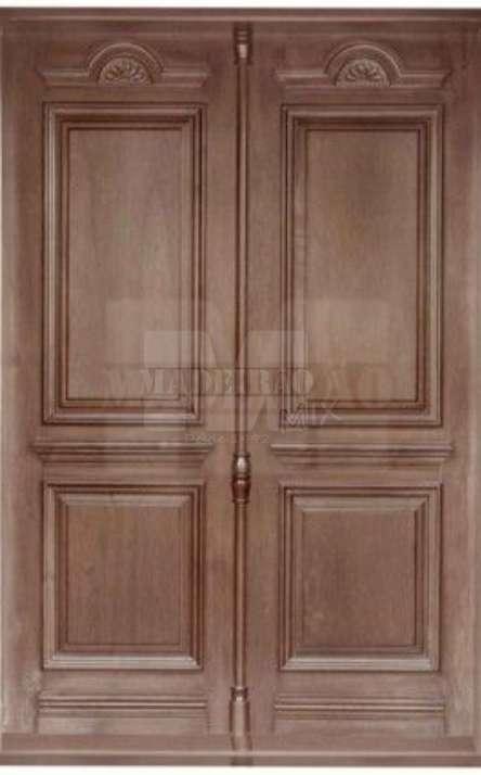 Portas de entrada em madeira maciça - Foto: 13