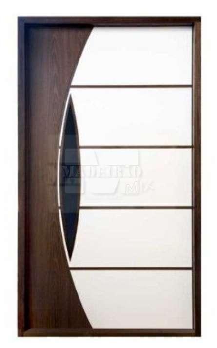 Portas de entrada em madeira maciça - Foto: 25