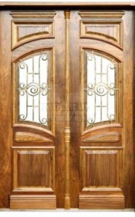 Portas de entrada em madeira maciça - Foto: 9