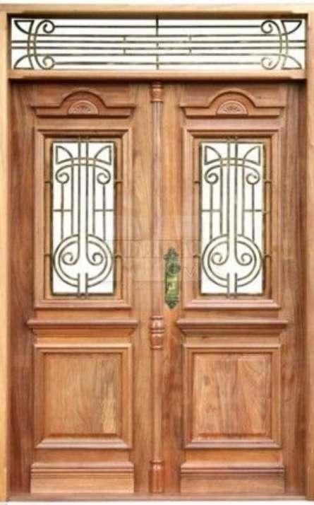 Portas de entrada em madeira maciça - Foto: 8