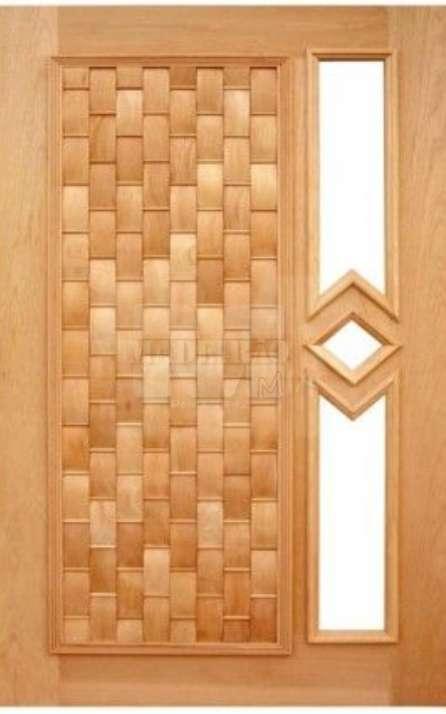 Portas de entrada em madeira maciça - Foto: 7