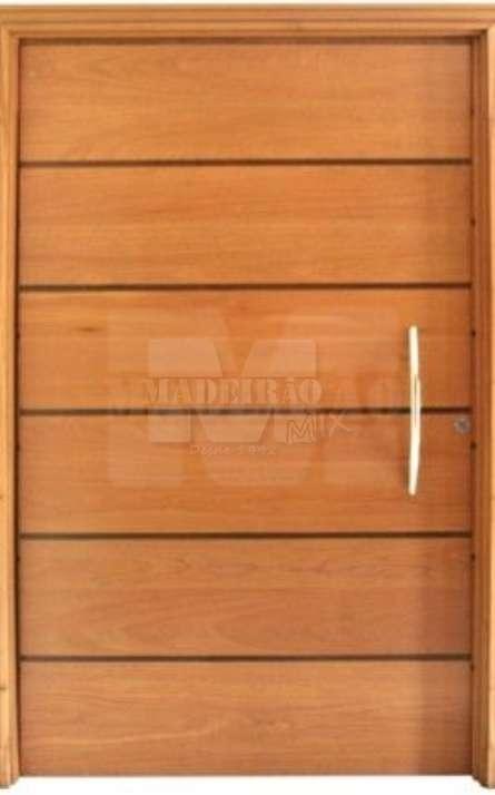 Portas de entrada em madeira maciça - Foto: 5